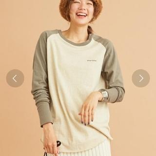 エディットフォールル(EDIT.FOR LULU)のB&Y別注americanaベースボールTシャツ(Tシャツ(長袖/七分))