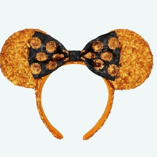 Disney - ディズニーハロウィン 2020 カチューシャ ミニー スパンコール
