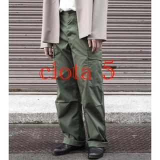 コモリ(COMOLI)のciota スビンコットンジャングルファティーグパンツ 5(ワークパンツ/カーゴパンツ)