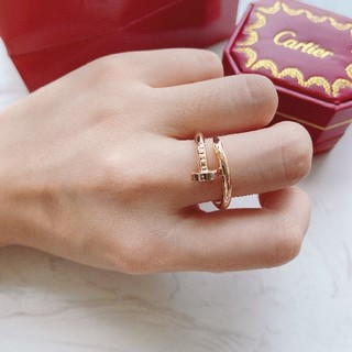 Cartier - ✩即納✩Cartierカルティエ リング指輪 レディース 刻印ロゴ