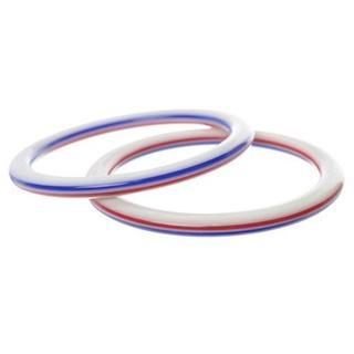 【レア】【入手困難】トリコロール 2個 バングル ブレスレット スカーフリング