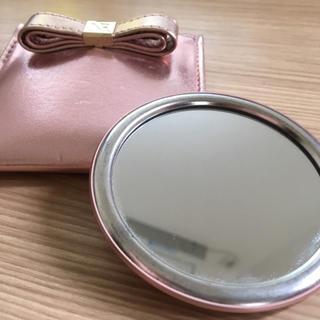 ニナリッチ(NINA RICCI)の【NINA RICCI】手鏡 ピンク(ミラー)