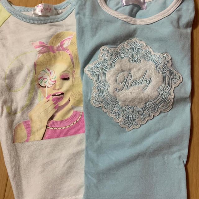 Rady(レディー)のちびRady キッズ/ベビー/マタニティのキッズ服女の子用(90cm~)(Tシャツ/カットソー)の商品写真
