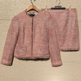 23区 - 新品 23区 スーツ ツイード  セットアップ ジャケット スカート 36 38