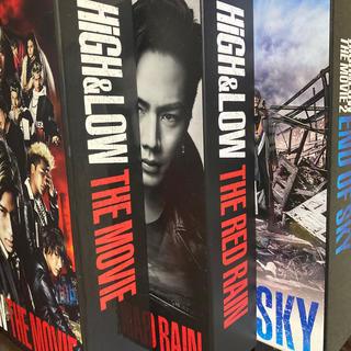 エグザイル トライブ(EXILE TRIBE)のhigh &low 劇場版DVD 3本セット!【初回限定版】(日本映画)
