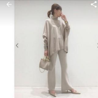 アパルトモンドゥーズィエムクラス(L'Appartement DEUXIEME CLASSE)の新品未使用 パンツ L'Appartement Flare Knit Pants(カジュアルパンツ)
