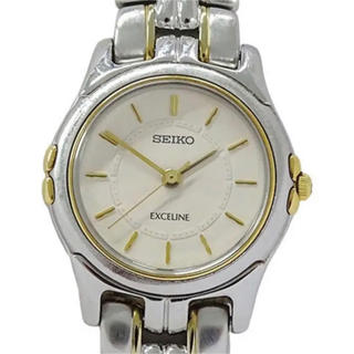セイコー(SEIKO)の腕時計 時計 SEIKO  レディース アイボリー(腕時計)