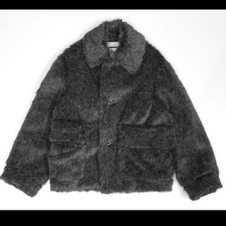 新品 DAIRIKU Vinyl Patch Fur Coat ダイリク