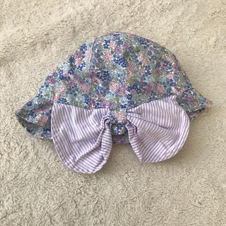 プティマイン(petit main)のリバティ柄 帽子(帽子)
