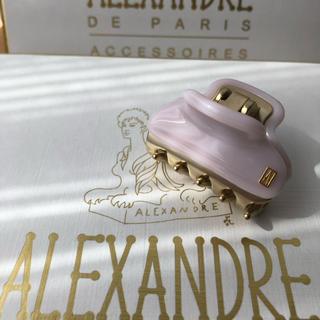 アレクサンドルドゥパリ(Alexandre de Paris)の新品☆  アレクサンドル ドゥ パリ ヴァンドーム クリップ small(バレッタ/ヘアクリップ)