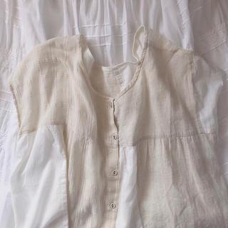サマンサモスモス(SM2)のSM2 パッチワークシャツ(シャツ/ブラウス(半袖/袖なし))