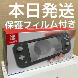 Nintendo Switch - Nintendo Switch lite 本体 グレー スイッチライト