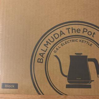 バルミューダ(BALMUDA)のBALMUDA  バルミューダ ケトル ブラック(電気ケトル)