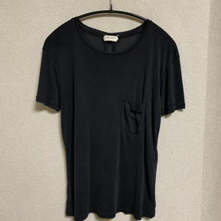 Saint Laurent - エディ期 saint laurent paris シルク Tシャツ