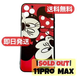 Disney - iPhoneケース カバー ミッキー ミニー iPhone11 pro max