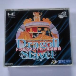 エヌイーシー(NEC)のドラゴンスレイヤー 英雄伝説 PCエンジン SUPER CD-ROM2 PCE(家庭用ゲームソフト)