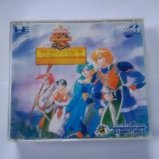 エヌイーシー(NEC)の英雄伝説Ⅱ PCエンジン SUPER CD-ROM2 PCE(家庭用ゲームソフト)