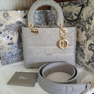 Christian Dior - 限定品!Lady Dior カナージュ 2Way ハンドバッグ