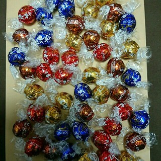 Lindt - 24個 リンツリンドールチョコレート アソート詰め合わせ