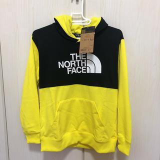 ザノースフェイス(THE NORTH FACE)のノースフェイス ブロックドスウェットフーディ 150cm(Tシャツ/カットソー)