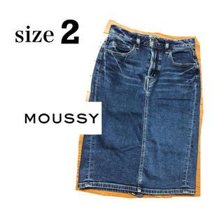 マウジー(moussy)のMOUSSY ひざ丈スカート(ひざ丈スカート)