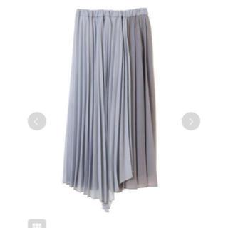 31 Sons de mode - 31ソンドゥモード   配色アシンメトリープリーツスカート