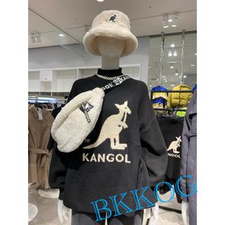 KANGOL - 【タグ付き】H&M × Kangol ロゴ セーター M
