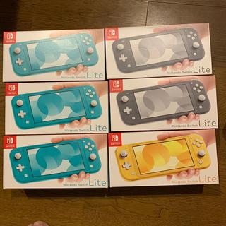 Nintendo Switch Lite 6台セット 新品未開封 (家庭用ゲーム機本体)