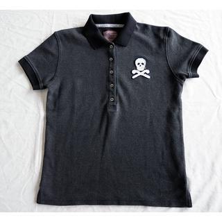 マークアンドロナ(MARK&LONA)のMARK&LONA レディース ポロシャツ ブラック S(ウエア)
