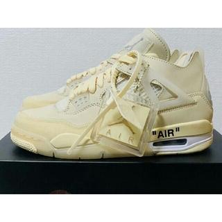 オフホワイト(OFF-WHITE)のナイキエア ジョーダン4Nike x Off-White Air Jordan (スニーカー)