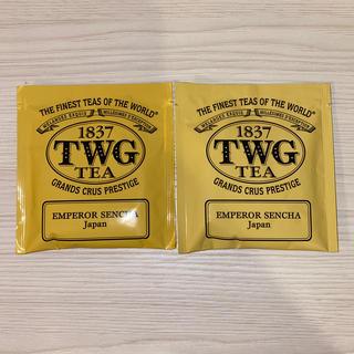 アフタヌーンティー(AfternoonTea)のTWG 煎茶 シンガポール高級紅茶 2袋 ☆最安値☆ グリーンティー(茶)