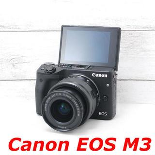 Canon - ❤️Wi-Fi機能搭載❤️自撮り❤️Canon EOS M3