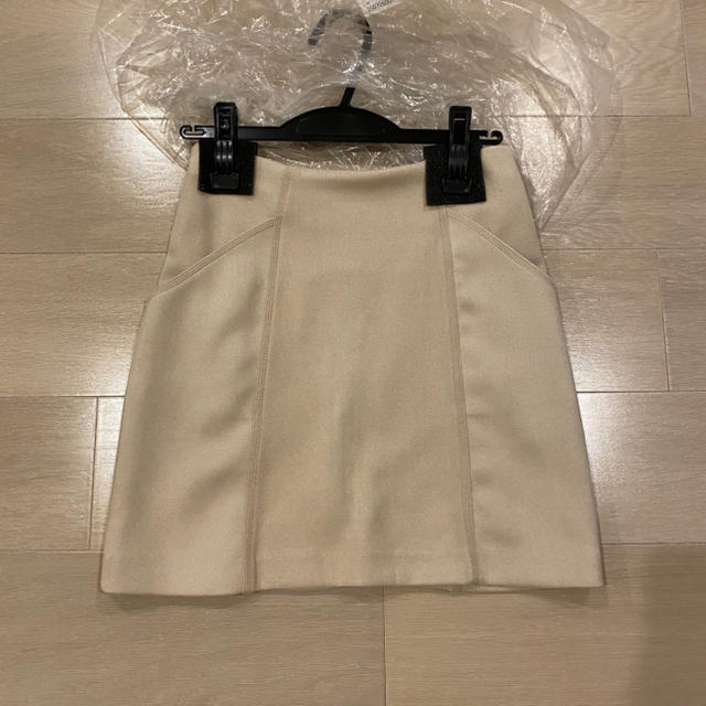 snidel(スナイデル)のスエード台形スカート レディースのスカート(ミニスカート)の商品写真