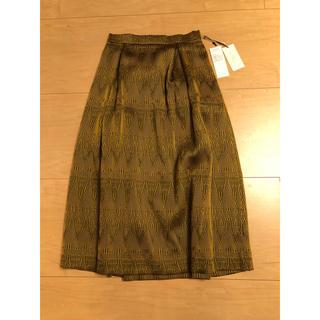 GRACE CONTINENTAL - 新品タグ付きグレースコンチネンタルスカート パーティー 定価¥31900