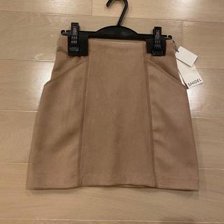 snidel - スエード台形スカート