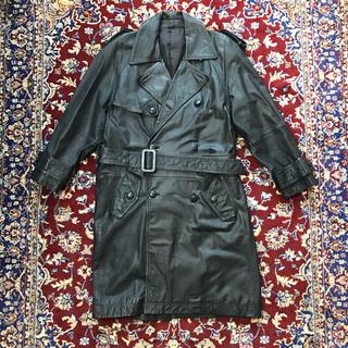 ジョンローレンスサリバン(JOHN LAWRENCE SULLIVAN)のVINTAGE leather trench coat(トレンチコート)