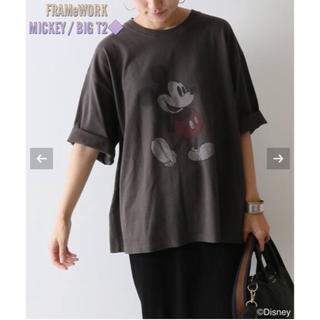 FRAMeWORK - 【新品タグ付き】FRAMeWORK MICKEY BIG T2