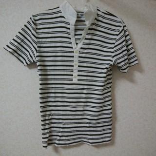 コムサメン(COMME CA MEN)のメンズLサイズ 半袖カットソーCOMME CA MEN コムサメン(Tシャツ/カットソー(半袖/袖なし))