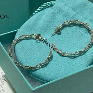 ティファニー(Tiffany & Co.)のTiffany インフィニティフープ ラージサイズピアス(ピアス)