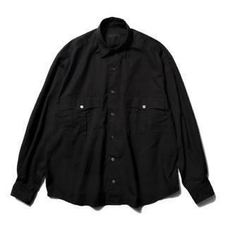 PORTER - 18ss porter classic ロールアップシャツ ブラック