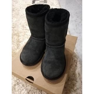 アグ(UGG)のUGG T CLASSIC ブラック US10 17センチ(ブーツ)