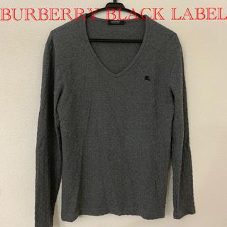 バーバリーブラックレーベル(BURBERRY BLACK LABEL)のバーバリーブラックレーベル Vネック ロンT(Tシャツ/カットソー(七分/長袖))