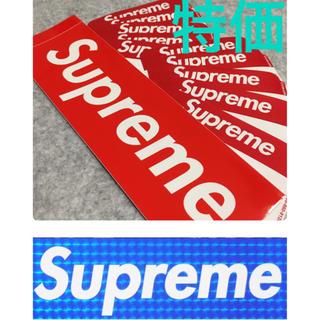 シュプリーム(Supreme)のSupreme Name Badge Stickers Red ステッカー(ノート/メモ帳/ふせん)