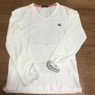 バーバリーブラックレーベル(BURBERRY BLACK LABEL)のバーバリーブラックレーベル ロンT(Tシャツ/カットソー(七分/長袖))