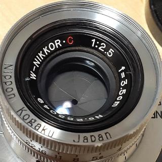 Nikon - nikon 3.5cm 2.5 lマウント