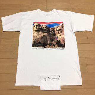 コカコーラ(コカ・コーラ)のUSA製 90s PEPSI Tee ペプシ Tシャツ 半袖 ラシュモワ山(Tシャツ/カットソー(半袖/袖なし))