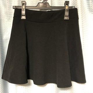 ウィゴー(WEGO)のWEGO 膝丈スカート 黒(ひざ丈スカート)