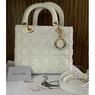 Dior - Dior レディディオール バッグ ホワイト