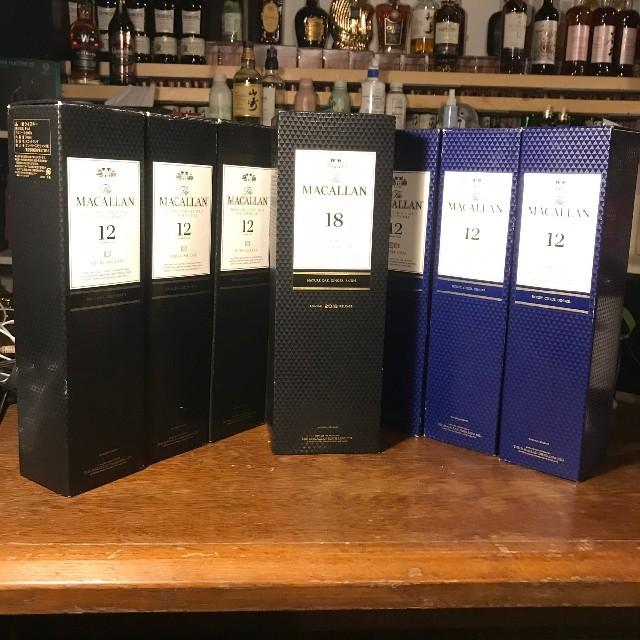 マッカラン12年 合計6本セット 食品/飲料/酒の酒(ウイスキー)の商品写真