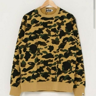 A BATHING APE - A BATHING APE 1ST CAMO CREWNECK Lサイズ